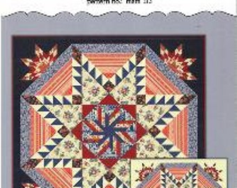 Starry Dreams Pattern, Main Street Market, Star Quilt Pattern - Pattern No. MSM 113 - DIY Pattern