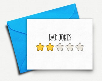 Funny Fathers Day Card, Fathers Day Gift, Gifts for Dad, Dad Gift, Dad Birthday Card, New Dad Card, Dad Jokes, Funny Greeting Cards