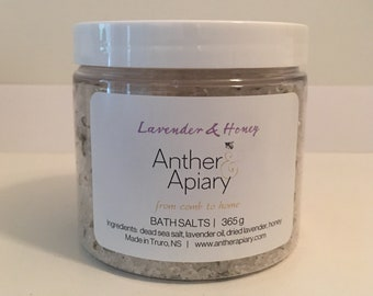 BATH SALTS Lavender & Honey 365g