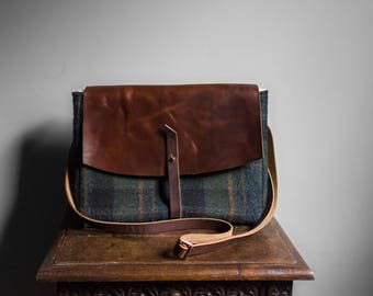 Hobo Bag / Fabric Crossbody Bag / Cross Body Bag / Boho Bag / Crossbody Bags / Messenger Bag / Purse / Handbag / Leather Bag / Leather Purse