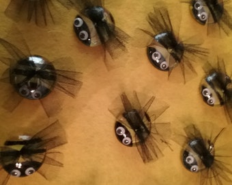 Bumble bee magnets. Sent individually in pouch.