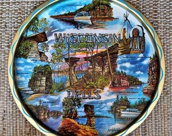 Wisconsin Dells Souvenir Tray