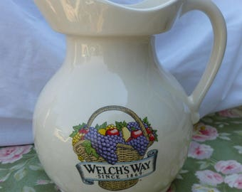 SALE*** Welch's Way Juice Pitcher