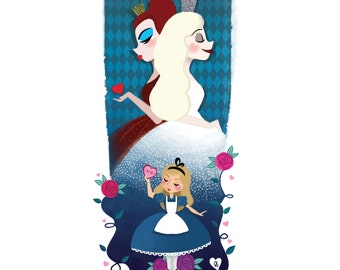 Poster to download - Alice & 2 Queens (A4)