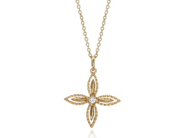 Star charm necklace, star necklace,star charm, unique pendant, delicate necklace, everyday necklace, special gift,unique necklace