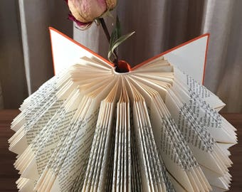 Folded book | Book Sculpture | Folded book | Gift Idea | Art
