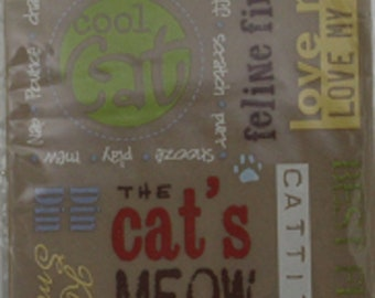 Flairn Designs - Rub Ons - Cool Cat Phrases