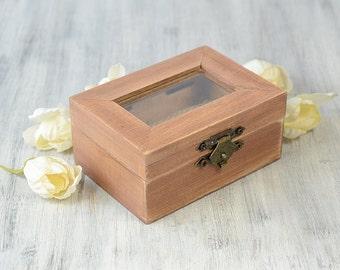Rustic Ring box Wedding ring box Wood Ring Holder Ring Bearer Pillow Alternative Engagement Proposal box Ring Bearer Box  Personalized box