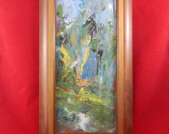 Vintage Original Oil Painting By Sydell
