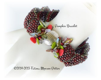 TUTORIAL - Pumpkin Shaped Bracelet