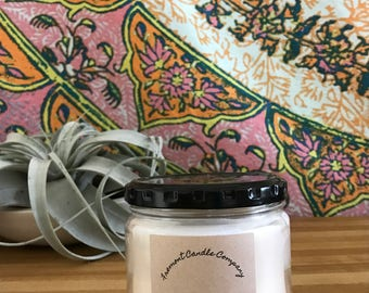 12 ounce Wide Mouth Soy Wax Candle