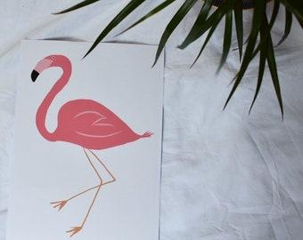 Flamingo print PDF COPY ONLY