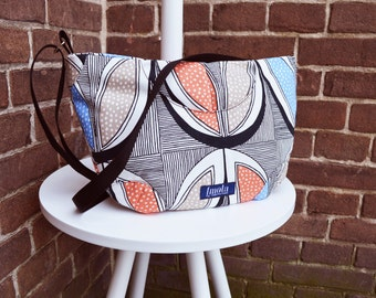 Tribal striped pattern purse crossbody bag concealed carry purse