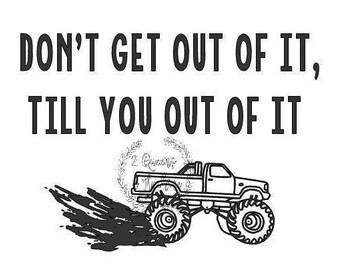 Mud Truck dirt lover muddin' svg automatic download