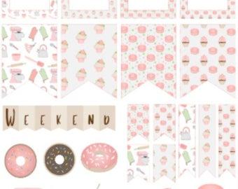 Baking Spread | 1013 | Kikki K | Happy Planner | Erin Condren