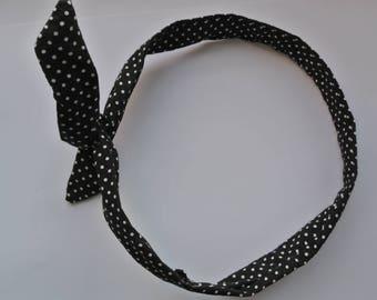 headband / hair pin-up style headband