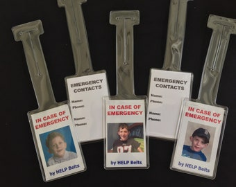 Emergency Contact Photo Tags