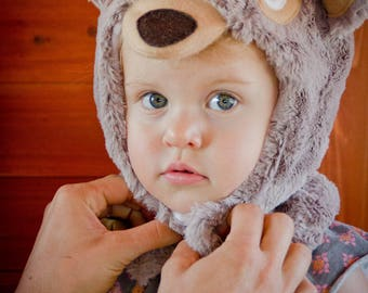 Bear Hat for Baby