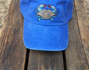Blue Crab Hat - Youth