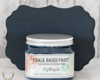 Vintage Storehouse Chalk Based Paint - Nightingale