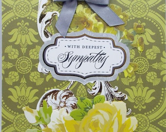 With Deepest Sympathy 2018 Card Handmade
