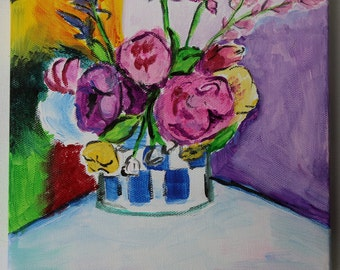Abstract Florals, inspired by Henri Matisse, Home Decor