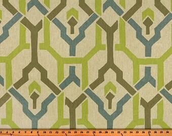 """Pair (Two 50"""" wide) designer curtain panels, drapes trellis Puspha Florence laken"""