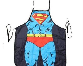 Superman Comic Character  Adult Apron Kitchen or Craft