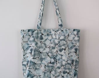 "Printed Tote Bag ""Ice"""