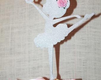 Ballerina cake topper, ballerina party, cake topper, Dance party, Ballet party