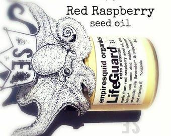 Sunscreen with Red Raspberry & Zinc Oxide | Natural Sunscreen |  Mineral Sunscreen | All Natural Sunblock | Organic Sunblock