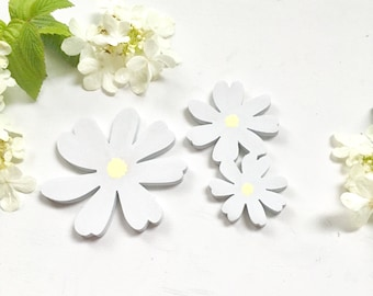Floral add-on option - Daisies and Roses - Wooden Sign Addition
