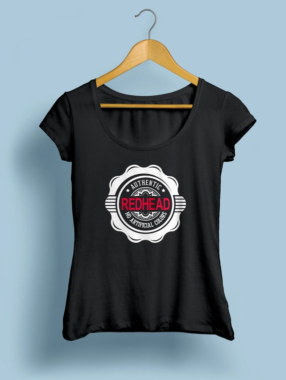 "Redhead ""Authentic Redhead"" Womens Shirt S-XXL Available"