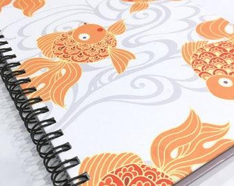Ruled Journal - Goldfish
