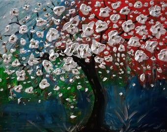 TREE WHITE FLOWERS