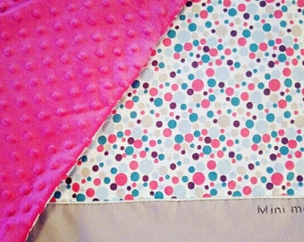 To order personalized colorful baby blanket