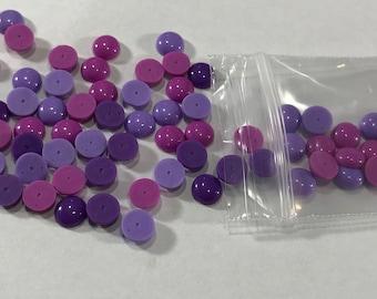 Purple Enamel Dots