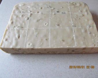 Vanilla Walnut homemade cream and butter kettle fudge 1 pound