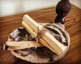 Palo santo, palo santo wood, holy wood incense, palo santo incense, smudge stick, energy cleansing, healing, reiki healing, meditation