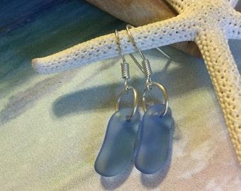 Sea Glass Jewelry Beach Glass Earrings Sea Glass Earrings Seaglass Beach Glass Earrings Seaglass Earring Beach Jewelry Glass Earring  Gifts