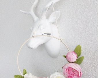 Bohemian hanging wreath