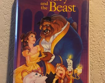 Walt Disney's Beauty and the Beast - Vintage VHS and free GIFT
