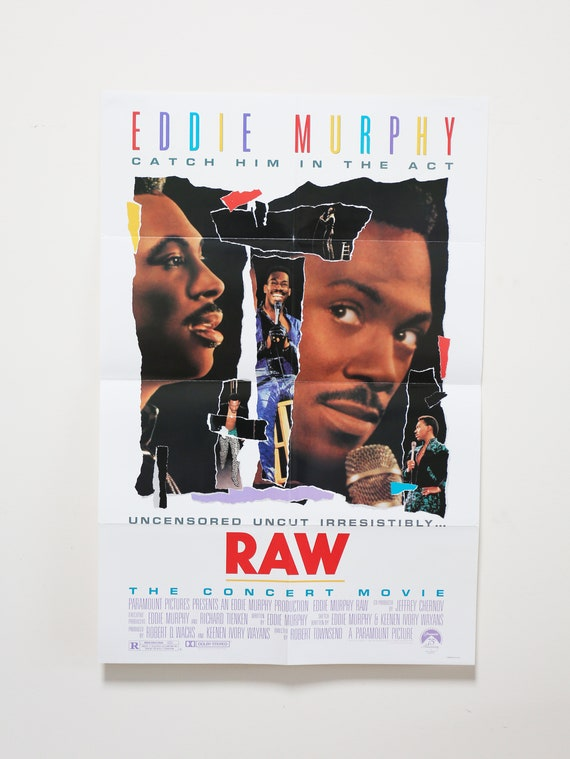 Original Theatrical One Sheet Film Poster - Eddie Murphy RAW