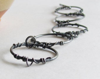 Handmade Vine Bracelet - Barbed Wire Bracelet