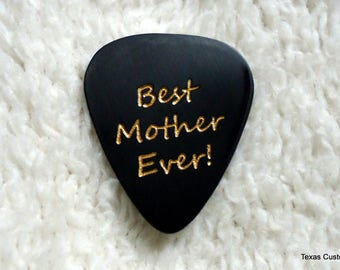 Mother's Day Pick, Personalized Custom Engraved Guitar Pick/Plectrum, Personalized Pick, Engraved Pick, Custom Pick, Prom Dance