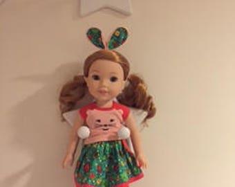 New Wellie Wisher Doll Holder