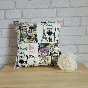 Paris Pillow COVER~Paris Cushion COVER~French Decor For The Home~Eiffel  Towel