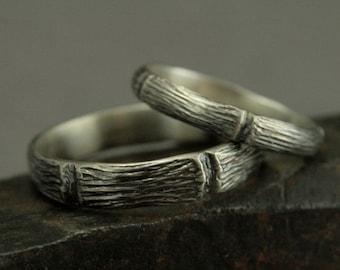 Forest wedding ring Etsy