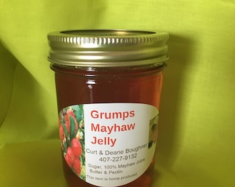 8 punces of Delicious Mayhaw Jelly