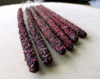Artisan Incense - DRAGONS BLOOD, hand rolled, witchcraft supply, incense sticks, wiccan, pagan, witchcraft